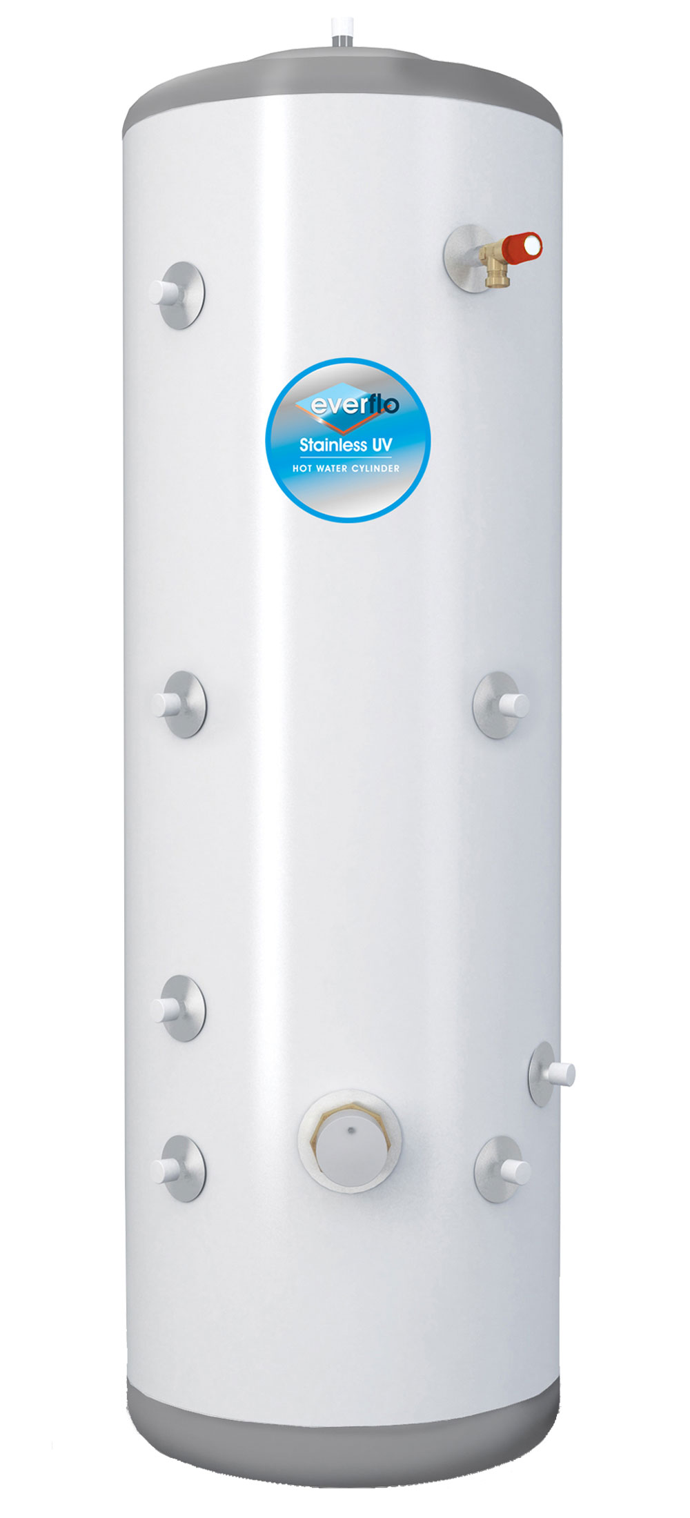 Everflo Stainless 300l Solar Indirect Unvented Hot Water
