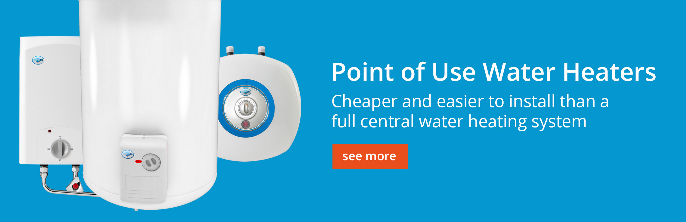 Point of Use Water Heaters